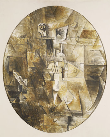 Georges Braque, Violon, 1911