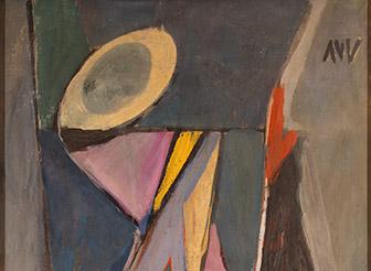 Bram van Velde, Sans titre (le Cheval majeur), 1945 (?)