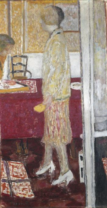 Pierre Bonnard, Marthe dans la salle à manger au Cannet, 1933