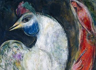 Marc Chagall, Le Coq, 1947
