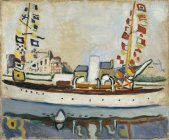 Raoul Dufy, Le Yacht anglais, 1906