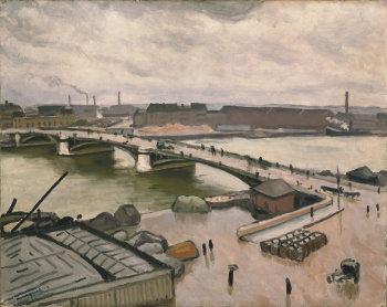 Albert Marquet, Rouen, quai de Paris, 1912