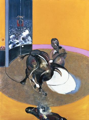 Francis Bacon, Étude pour une corrida, n°2, 1969