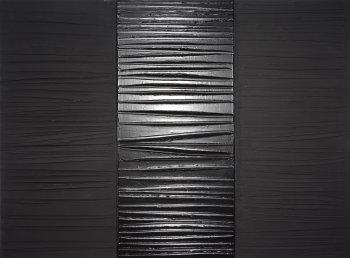 Pierre Soulages, Peinture 181 x 244 cm, 25 février 2009