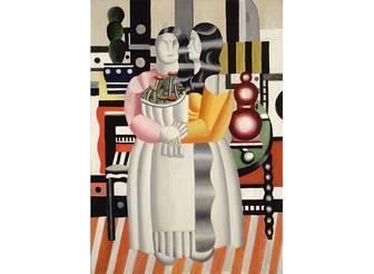 Fernand Léger, Les Deux femmes au bouquet, 1921